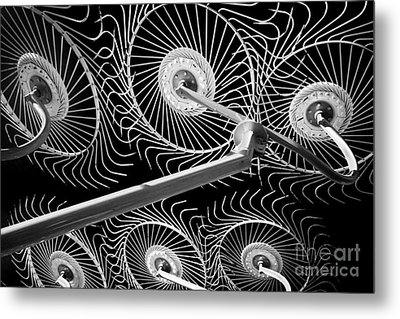 Hay Rake Metal Print by Bill  Robinson