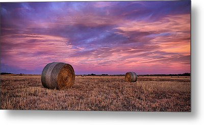 Hayseed Metal Print by Thomas Zimmerman