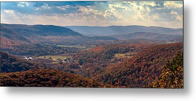 Haystack Mountain Tower View Metal Print