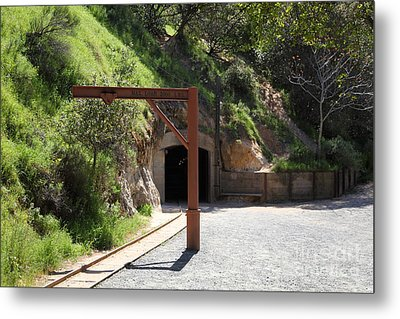 Hazel Atlas Mine At The Black Diamond Mines Regional Preserve 5d22307 Metal Print by Wingsdomain Art and Photography