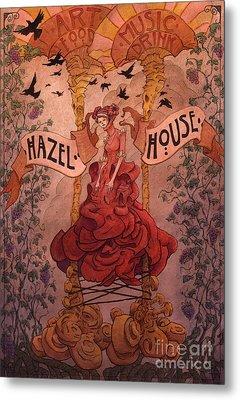 Hazel House Metal Print by Ethan Harris