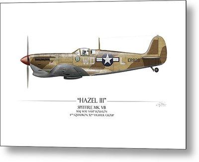 Hazel IIi Spitfire Mkv Metal Print