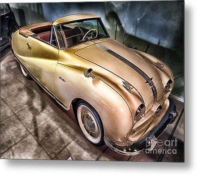 Metal Print featuring the photograph Hdr Classic Car by Paul Fearn