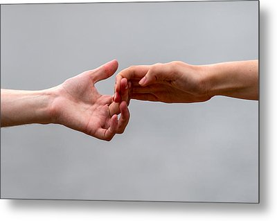 He And She - Featured 3 Metal Print by Alexander Senin