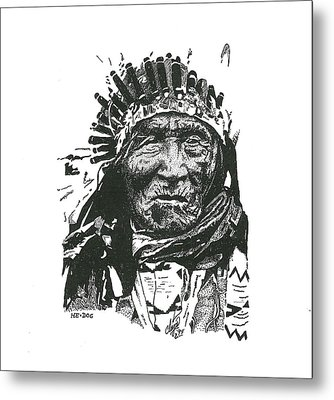 He Dog Metal Print by Clayton Cannaday