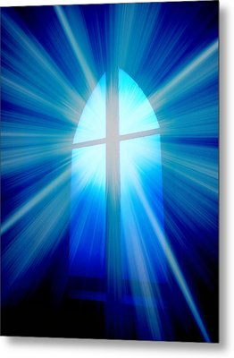 He Is Risen Metal Print by Aurelio Zucco