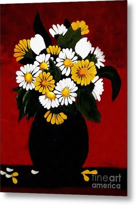 He Loves Me... Metal Print by Barbara Griffin