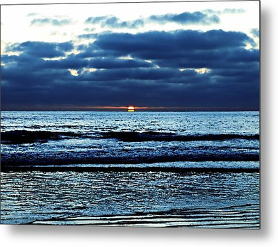 He Shall Be Great To The Ends Of The Earth Metal Print by Sharon Soberon