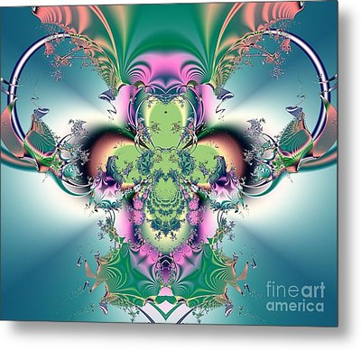 Metal Print featuring the digital art He Will Come Again In Glory by Luther Fine Art