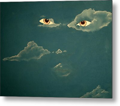 Head In The Clouds Metal Print by Corina Bishop