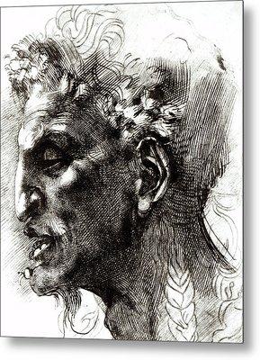 Head Of A Satyr  Metal Print