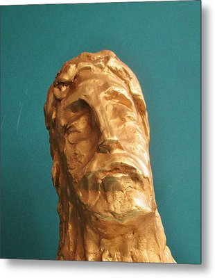 Head Of Christ 2014 Metal Print