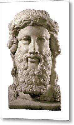 Head Of Hermes. 4th C. Bc. Classical Metal Print