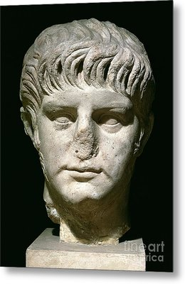 Head Of Nero Metal Print