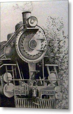 Head Of Steam Metal Print by Rick Moore