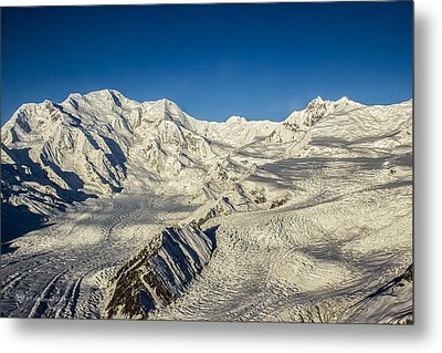 Head Of The Kennicott Glacier Metal Print