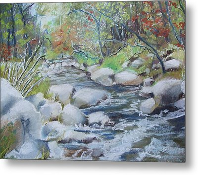 Head Waters On The James River Metal Print