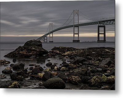 Heading For Newport Metal Print by Andrew Pacheco