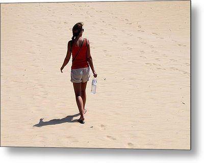 Heading To The Dunes Metal Print by Carolyn Ricks