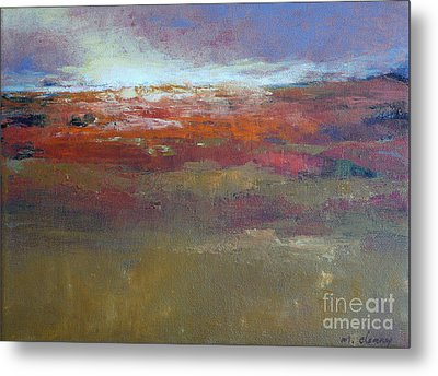 Heading West 6 Metal Print by Melody Cleary