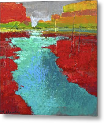Heading West No. 3 Metal Print by Melody Cleary