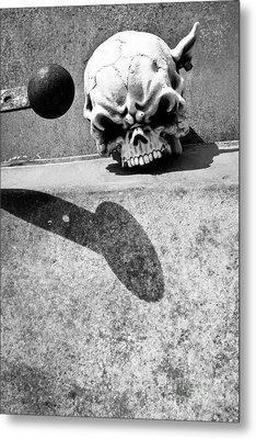 Headknocker Metal Print