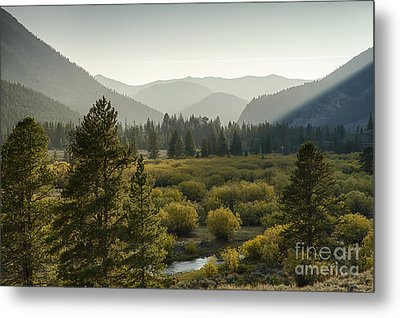 Headwaters Of The Big Lost River Metal Print by Idaho Scenic Images Linda Lantzy