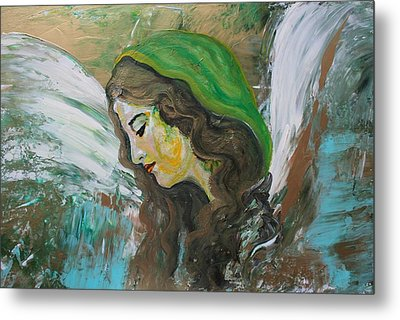 Healing Angel Metal Print
