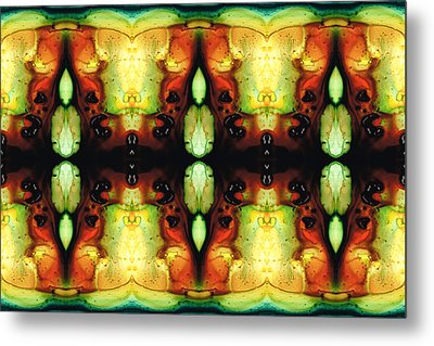 Healing Energy - Visionary Art By Sharon Cummings Metal Print by Sharon Cummings