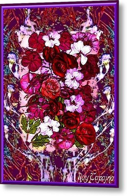 Healing Flowers For You Metal Print by Ray Tapajna