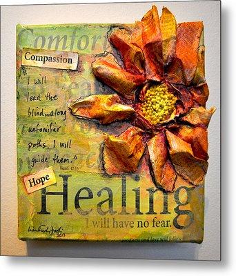 Healing From Isaiah 42 Metal Print by Lisa Fiedler Jaworski
