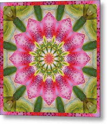 Healing Mandala 25 Metal Print