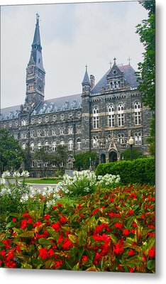 Healy Hall Metal Print by Mitch Cat