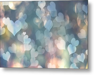 Heart Background Metal Print