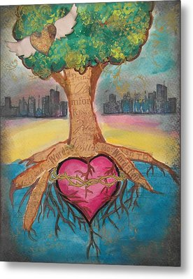 Heart For The City Metal Print