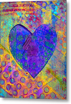 Heart Of Hearts Series - Compassion Metal Print by Moon Stumpp