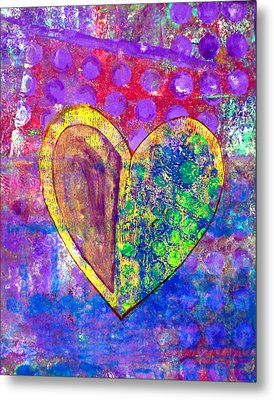 Heart Of Hearts Series - Discovery Metal Print by Moon Stumpp