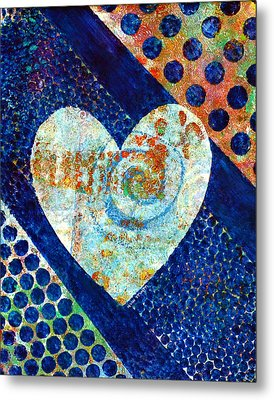 Heart Of Hearts Series - Elated Metal Print by Moon Stumpp