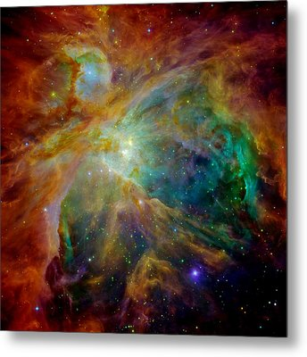 Heart Of Orion Metal Print by Benjamin Yeager