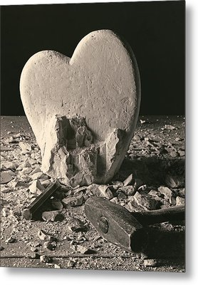 Heart Of Stone C1978 Metal Print by Paul Ashby