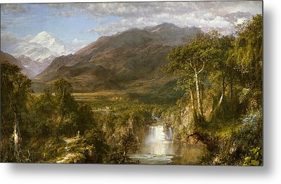 Heart Of The Andes Metal Print