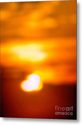 Heart Of The Day Metal Print