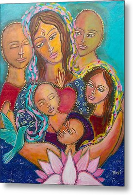 Heart Of The Family Metal Print by Havi Mandell