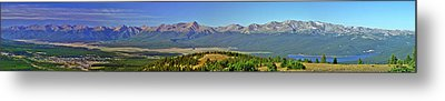 Heart Of The Sawatch Panoramic Metal Print by Jeremy Rhoades