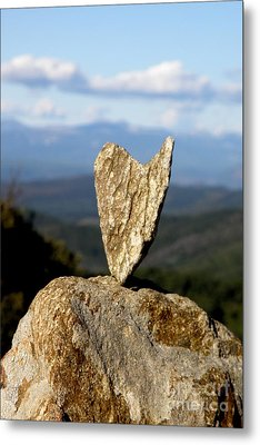 Heart On A Journey Metal Print
