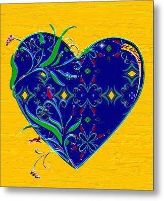Heartbloom Metal Print by RC deWinter