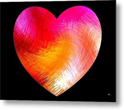 Heartline 6 Metal Print by Will Borden