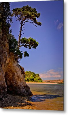Metal Print featuring the photograph Heart's Desire Beach by Janis Knight