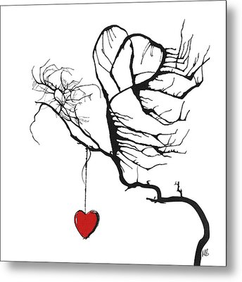 Hearts For Hearts 21 Metal Print by Melissa Smith