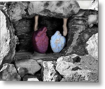 Hearts In Malachi Valentine Version Metal Print